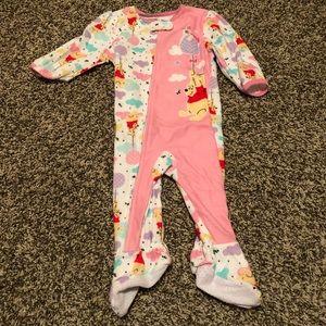 Disney' Winnie the Pooh footie pajamas 12 month